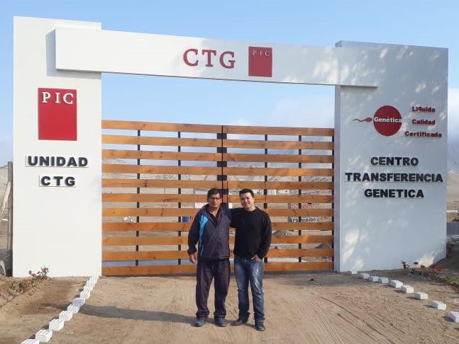 CTG de  PIC Perú recibe visita de asesor técnico de Minitube Brasil