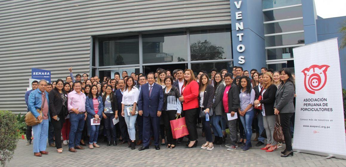 IV Jornada de Actualización en Sanidad y Producción Porcina se realizó en el auditorio de Senasa